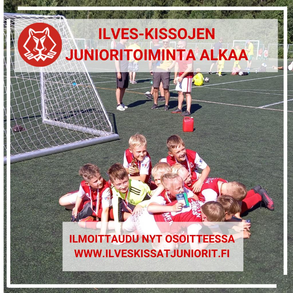 Ilmoittaudu Ilves-Kissojen jalkapallojunioritoimintaan
